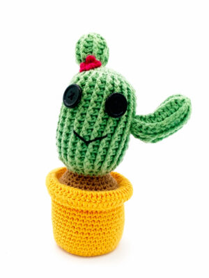 amigurumi cactus brazo mini